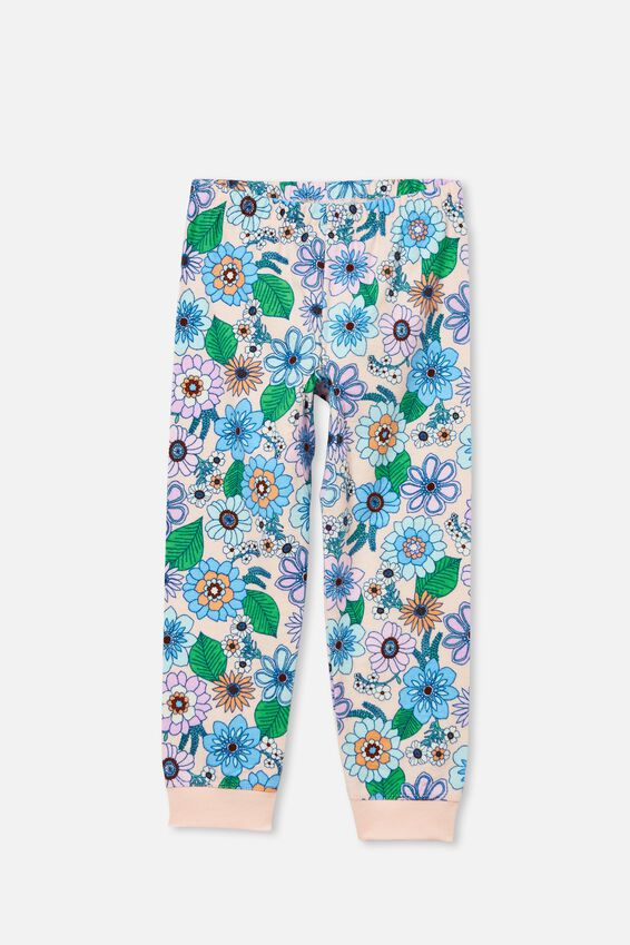 Edith Long Sleeve Pyjama Set Licensed, LCN DIS MISS BUNNY/CRYSTAL PINK