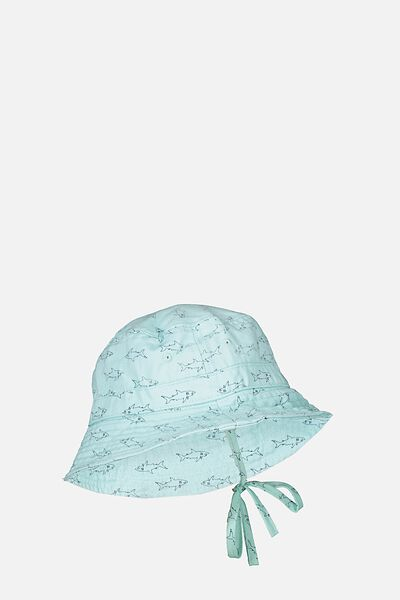 Kids Bucket Hat, PALE BLUE/SHARK