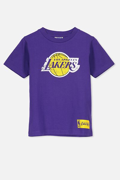 Co-Lab Short Sleeve Tee, COURT PURPLE/LA LAKERS