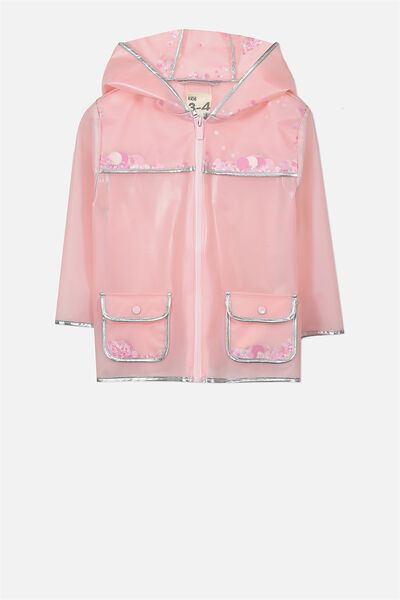 Peggy Rain Mac, PINK/SEQUINS
