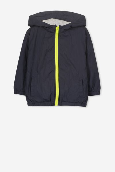 Whitney Spray Jacket, NAVY