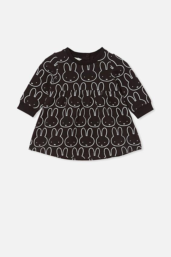 Tina Fleece Dress - Lcn, LCN MIF BLACK/MIFFY