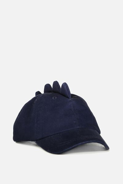 Baby Cap, WASHED PEACOAT