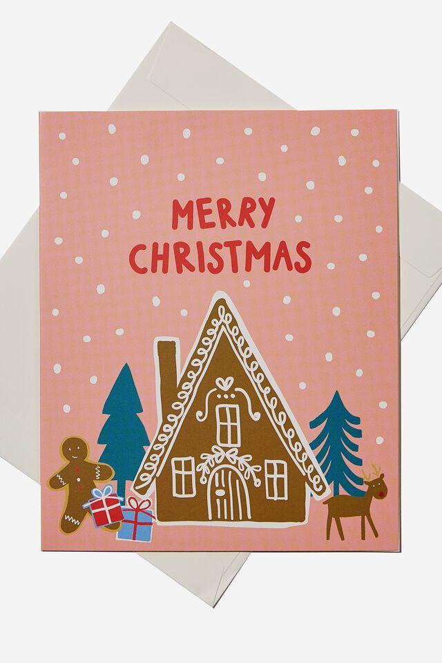 Christmas Gift Card, FAIR ISLE CHRISTMAS