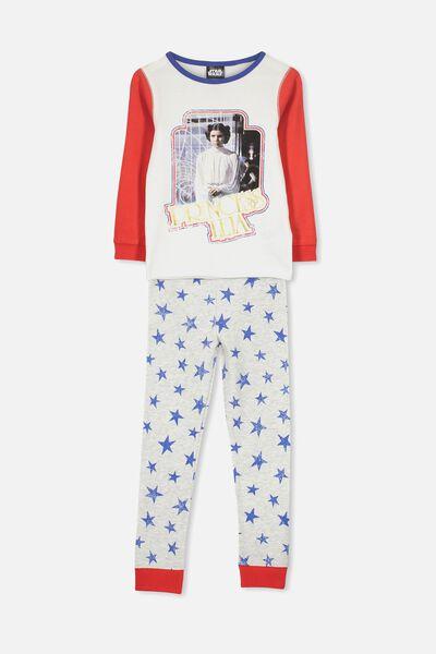 Alicia Long Sleeve Girls PJ Set, LCN LU STAR WARS/PRINCESS LEIA