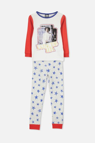 Alicia Long Sleeve Girls PJ Set, LCN LU STAR WARS/PRINCESS LEIA