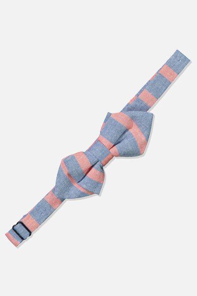 Billy Bow Tie, RED BLUE STRIPE