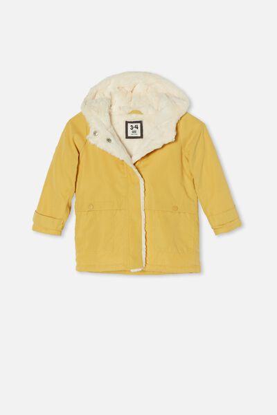 Florence Parker Jacket, HONEY GOLD