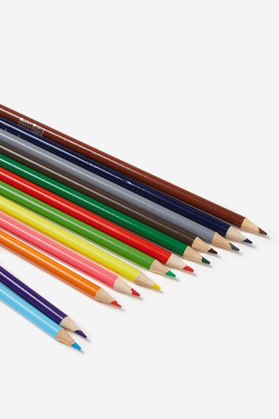 12Pce Coloured Pencil Pack, COLOUR