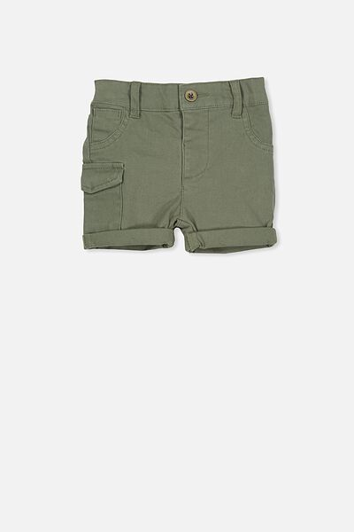 Jamie Slouch Short, ARMY GREEN
