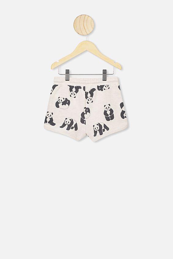Nina Knit Short, BLUSH MARLE/PANDAS