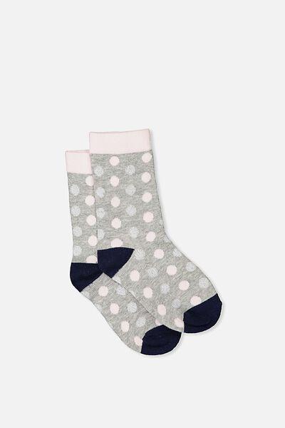 Fashion Kooky Socks, NEW MULTI SPOT