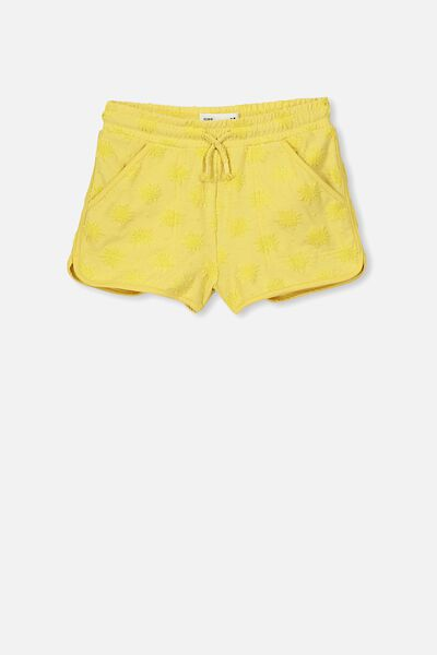 Nina Knit Short, CORN SILK SUNS