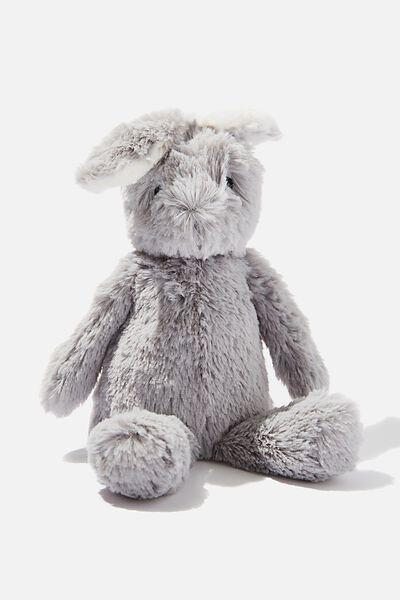 Baby Snuggle Toy, GREY BUNNY