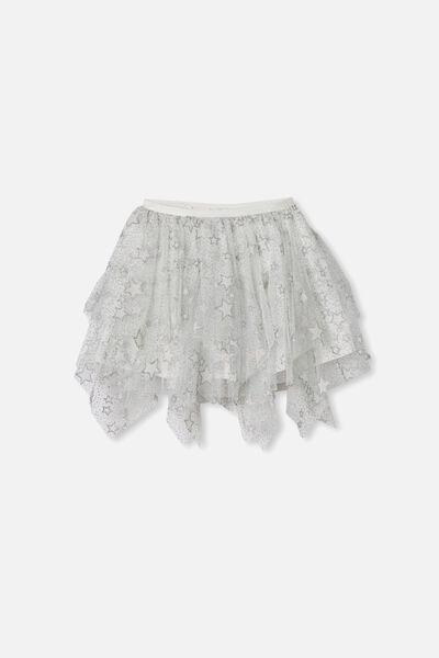Trixiebelle Dress Up Skirt, VANILLA MIDI/SPARKLE STARS