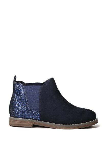 Paige Chelsea Boot, NAVY GLITTER