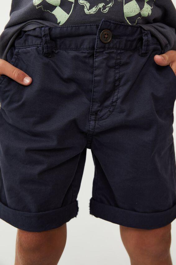 Walker Chino Shorts, INDIAN INK