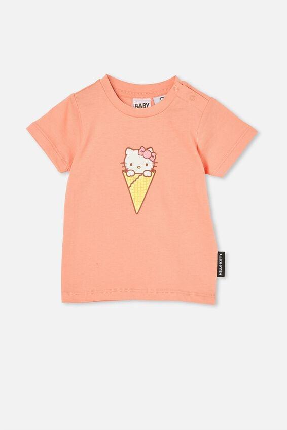 Jamie Short Sleeve Tee-Lcn, LCN SAN MUSK MELON/HELLO KITTY ICE CREAM