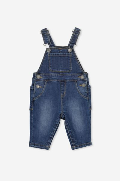 Bailey Dungaree, DENIM WASH