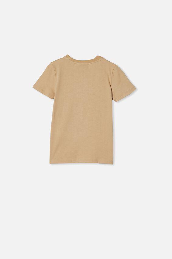 Lux Short Sleeve Tee, LCN MT SEMOLINA/ABSTRACT BIGGIE