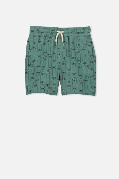 Henry Slouch Short, SOFT PINE/SKATEBOARDS