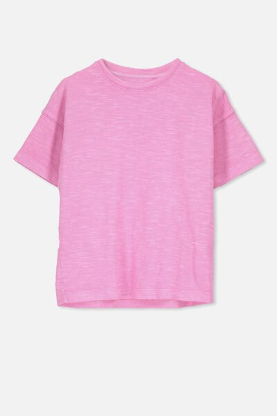 Penelope Ss Loose Fit Tee, PINK