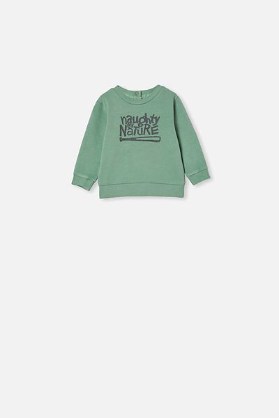 Billie Sweater, LCN MT SMASHED AVO WASH/NAUGHTY BY NATURE