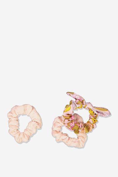 Mini Scrunchie, WILDFLOWER