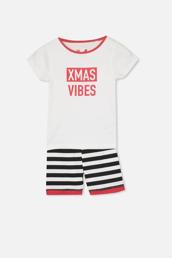 Christmas PJ Set, XMAS VIBES