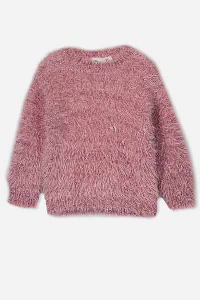 Nancy Knit Jumper, SWEET BLUSH