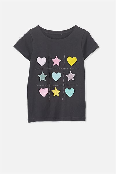 Anna Ss Tee, PHANTOM INT/NOUGHTS AND CROSSES/SET IN