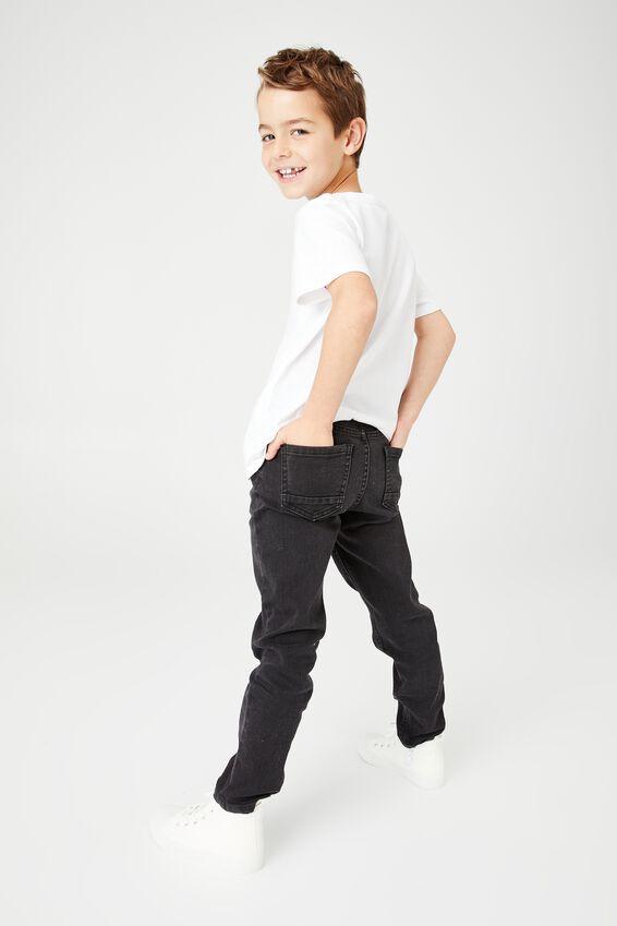 Slim Fit Jean, BURLEIGH BLACK
