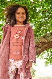 Edith Long Sleeve Pyjama set - Personalised, SOME BUNNY/CHUTNEY