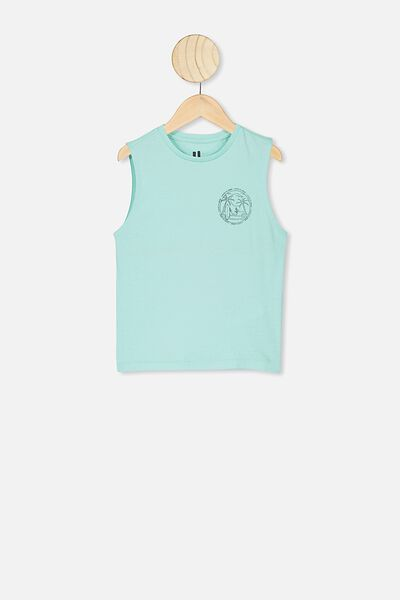 Otis Muscle Tank, TURQUIOSE HAZE/DOWN TO SURF