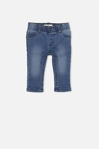 Charlie Denim Jean, MID BLUE