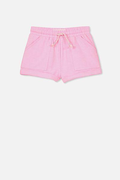 Nila Knit Short, MUSK STICK PINK