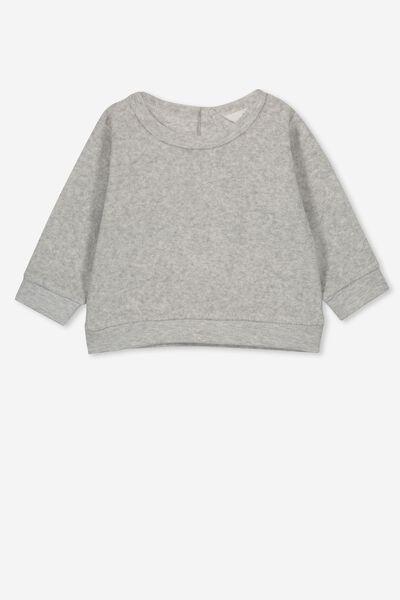 Billie Sweater, GREY MARLE