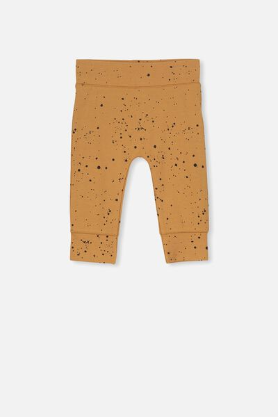 Mini Legging, BURNT BISCUIT/SPLATTER