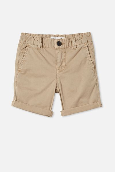 Walker Chino Short, WASHED STONE