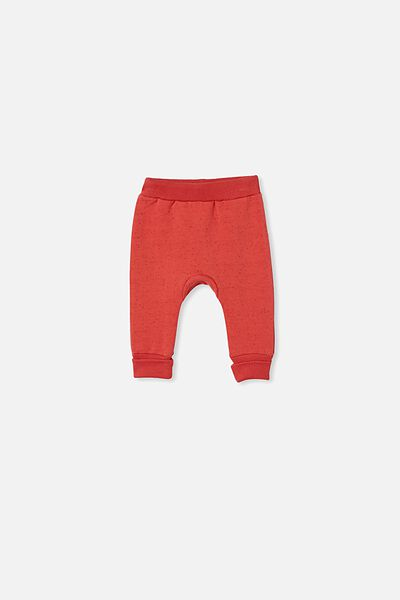 Tatum Trackpant, RED BRICK