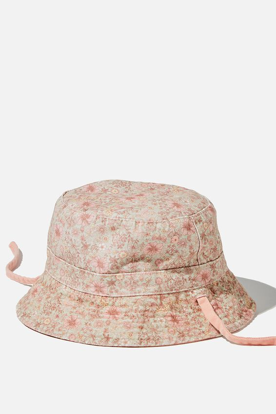 Reversible Bucket Hat, MUSK MELON