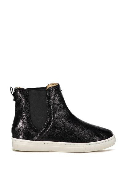 Darcy Gusset Boot, BLACK