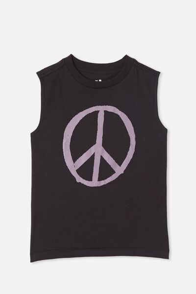 Otis Muscle Tank, PHANTOM/PEACE SIGN