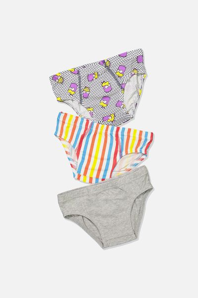 Boys License Brief 3 Pack, SIMPSONS BART MAN MIX