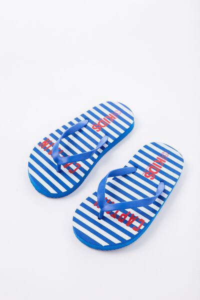Printed Flip Flop, B CAPTAIN