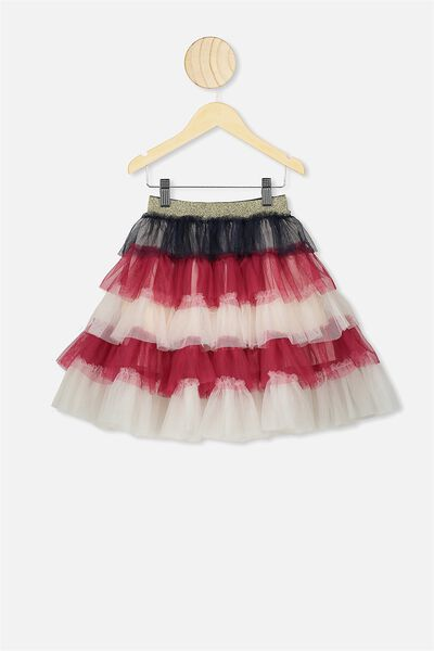 Trixiebelle Tulle Skirt, AMERICANA