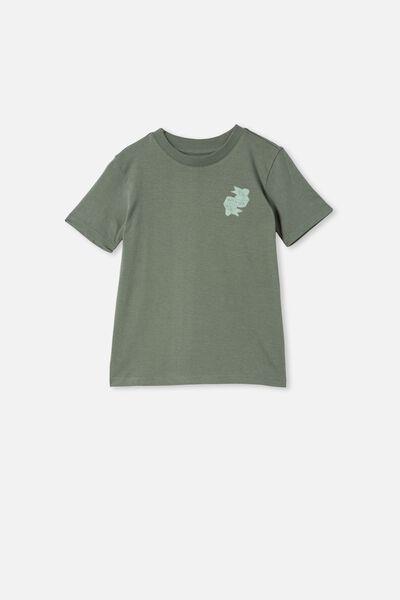 Max Skater Short Sleeve Tee, SWAG GREEN / SKATE OF MIND