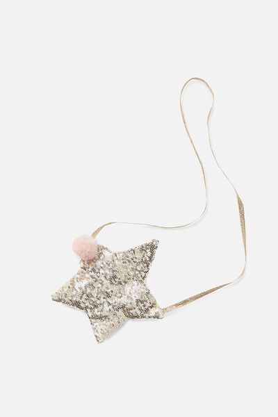 Sparkle Star Bag, GOLD SEQUIN