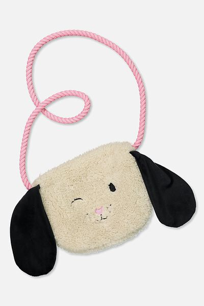 Novelty Cross Body Bag, PUPPY FACE