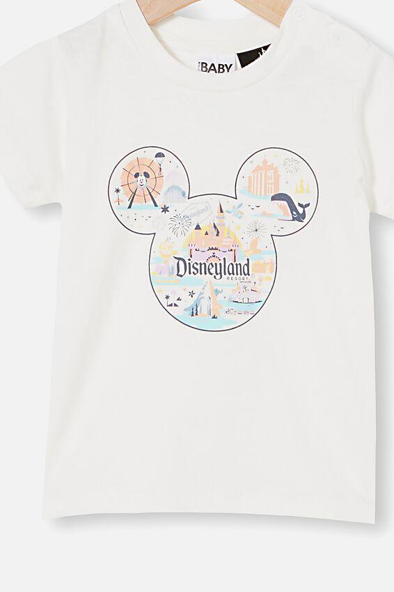 Disneyland Jamie Short Sleeve Tee, LCN DIS VANILLA/MICKEY RESORT
